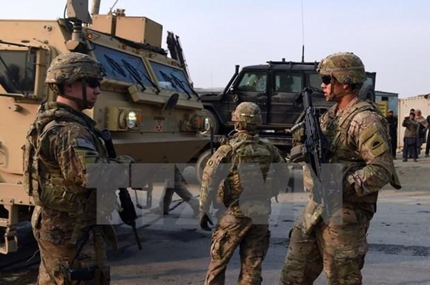 Bo Quoc phong My chua co ke hoach rut het quan khoi Afghanistan hinh anh 1