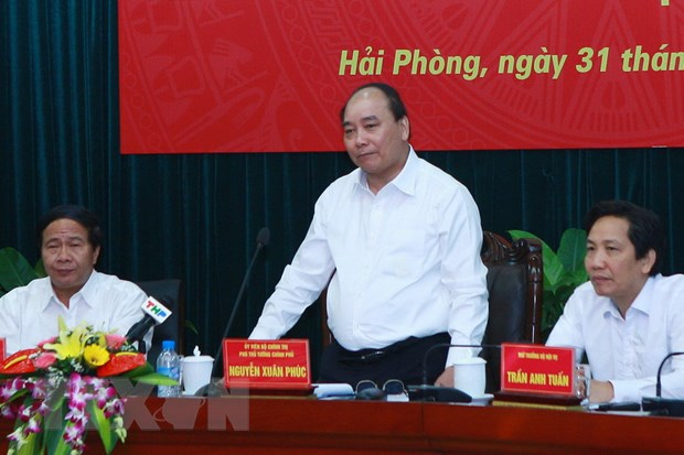 Nghien cuu trinh Chinh phu xay duong sat cao toc Ha Noi-Hai Phong hinh anh 1