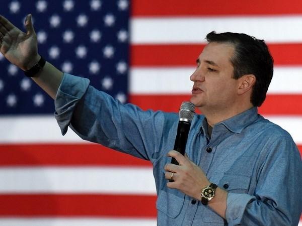 Bau cu My: Thuong nghi sy Ted Cruz gianh chien thang tai Kansas hinh anh 1