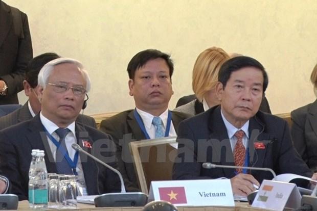 Viet Nam tham du Hoi nghi Doi tac nghi vien A-Au lan thu chin hinh anh 1