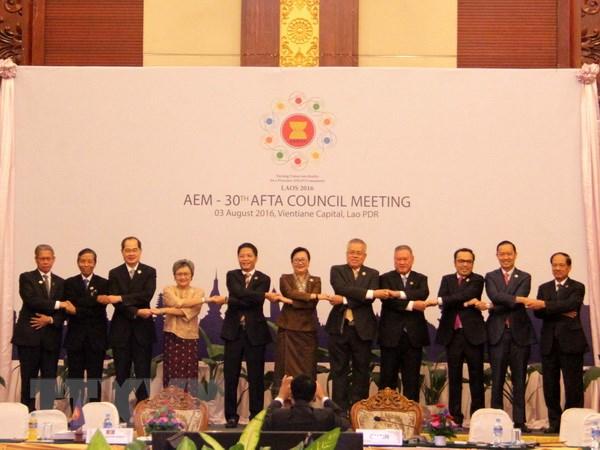 ASEAN cam ket tiep tuc thuc day su thuan loi trong thuong mai hinh anh 1
