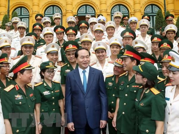 Chu tich nuoc: Can lan toa cac guong dien hinh trong xa hoi hinh anh 1