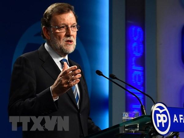 Tay Ban Nha: Dang Xa hoi chap thuan nhuong bo ong Mariano Rajoy hinh anh 1