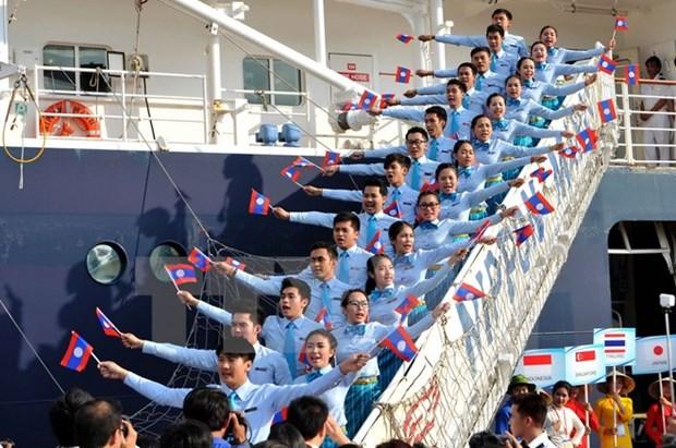Tau Thanh nien Dong Nam A va Nhat Ban se den TP Ho Chi Minh hinh anh 1