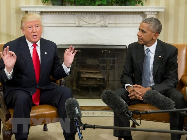 Tong thong dac cu Donald Trump doi mat voi 5 thach thuc doi ngoai hinh anh 1