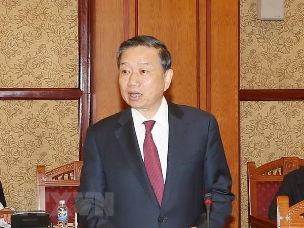 Bo truong To Lam gap Bo truong An ninh Quoc gia Trung Quoc hinh anh 1