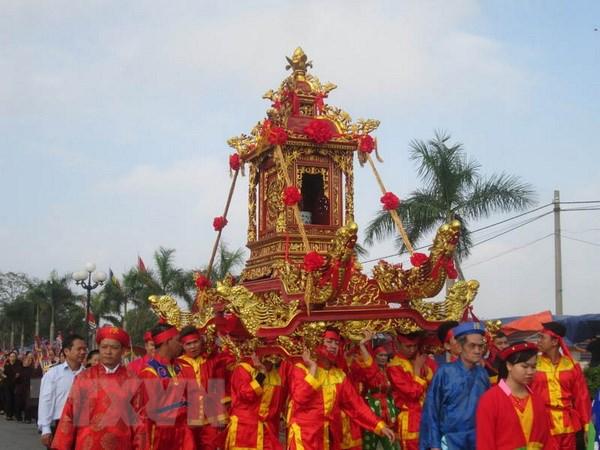 Khai hoi Tan Vien Son Thanh va khai truong du lich Ba Vi hinh anh 1