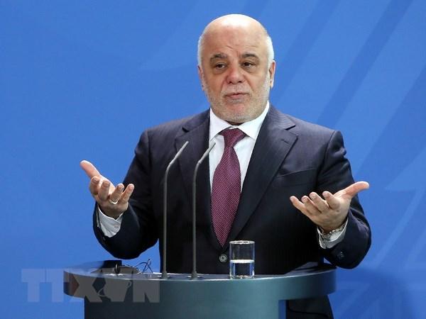 Thu tuong Iraq ra lenh khong kich IS ben trong lanh tho Syria hinh anh 1