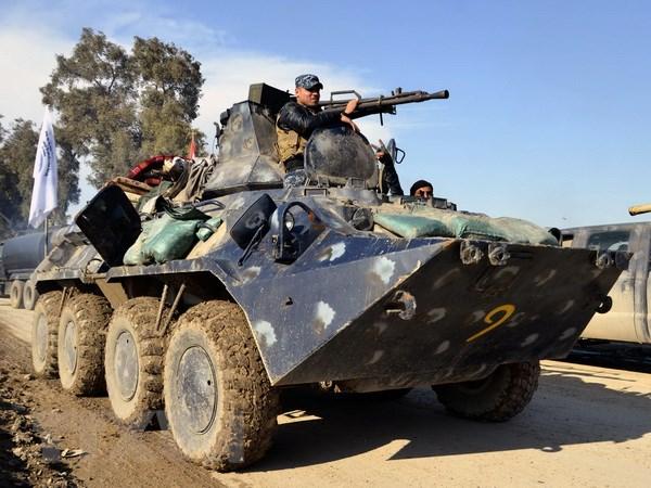 Luc luong Iraq gianh quyen kiem soat them mot so vi tri o Tay Mosul hinh anh 1