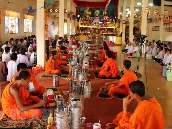 Dong bao Khmer o Soc Trang vui don Tet Chol Chnam Thmay hinh anh 1