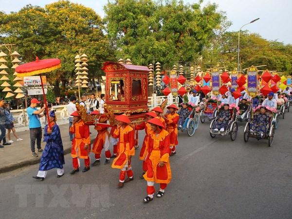 An tuong Festival Nghe truyen thong Hue voi