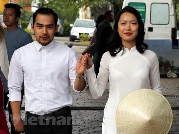 Tung bung Festival sinh vien va Ngay van hoa Viet Nam tai Italy hinh anh 2