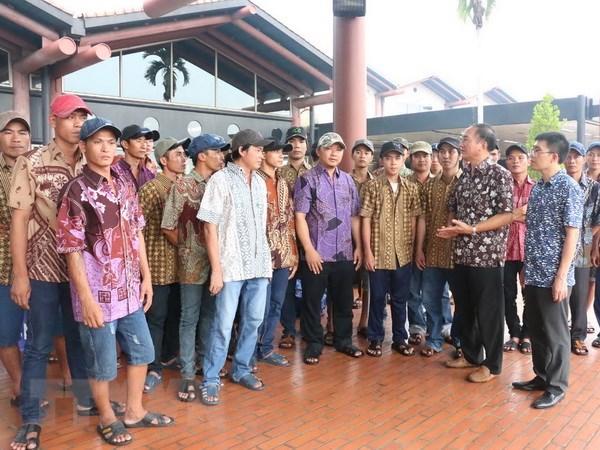 Indonesia hoan thanh thu tuc trao tra cho Viet Nam 100 ngu dan hinh anh 1
