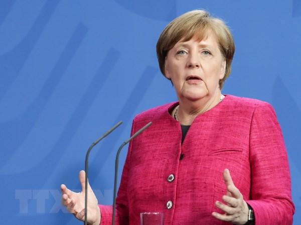 Thu tuong Duc Angela Merkel bat dau chuyen cong du My Latinh hinh anh 1