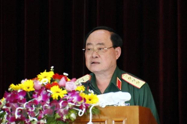 Nganh Hau can quan doi Viet Nam va Lao tang cuong hop tac hinh anh 1