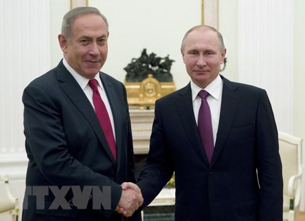 Nga-Israel bat dong vai tro cua Iran ve giai quyet khung hoang Syria hinh anh 1