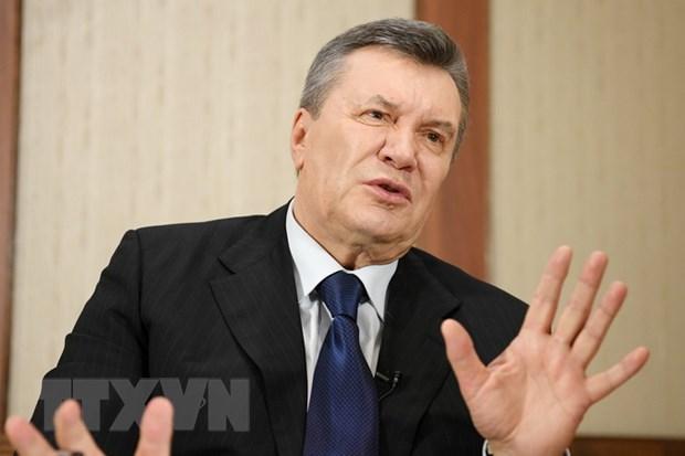 Cuu Tong thong Ukraine Viktor Yanukovych bi buoc toi tiem quyen hinh anh 1