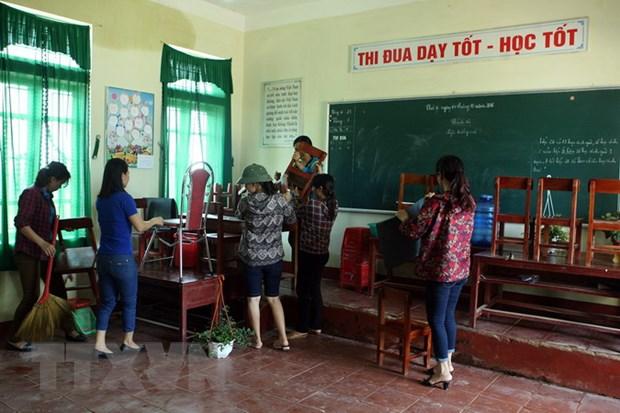 Quang Tri cho hoc sinh nghi hoc tu chieu 14/9 do bao so 10 hinh anh 1
