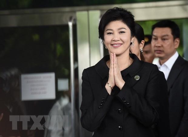 Thai Lan xem xet thu hoi ho chieu cua cuu Thu tuong Yingluck hinh anh 1