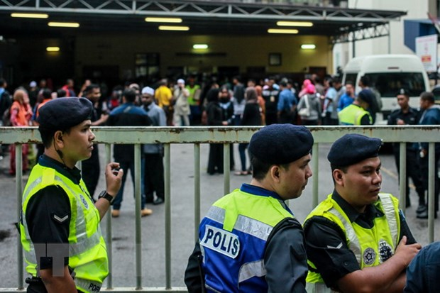 Malaysia bat 8 doi tuong nghi lien quan den cac nhom khung bo hinh anh 1