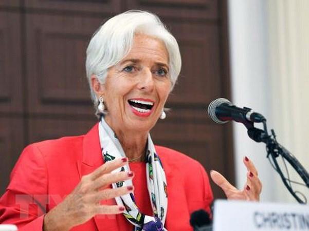 IMF nang du bao tang truong kinh te toan cau len 3.6% nam nay hinh anh 1