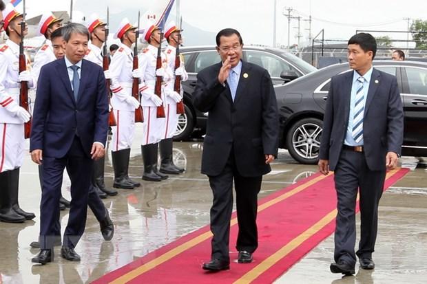 Chu tich nuoc gap lanh dao Lao, Campuchia va Han Quoc hinh anh 2