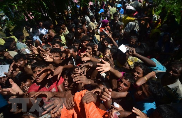 Ong Abdul Hamid lac quan ve giai phap cho khung hoang nguoi Rohingya hinh anh 1
