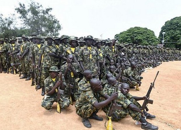 Quan doi Nigeria giai cuu hon 200 con tin khoi luc luong Boko Haram hinh anh 1