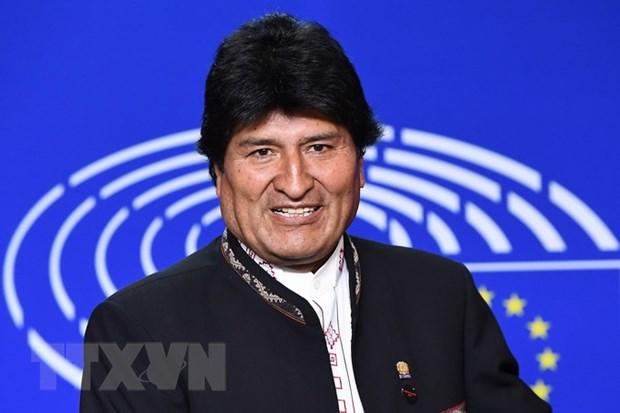 Tong thong Bolivia Evo Morales khang dinh se tai tranh cu nam 2019 hinh anh 1