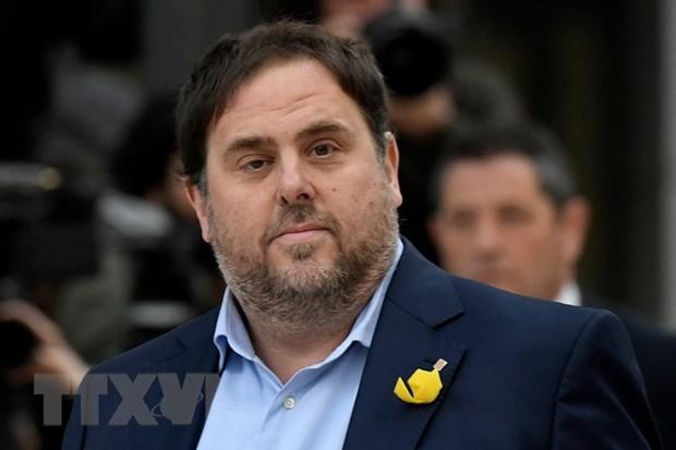 Tay Ban Nha: Tham phan can nhac phong thich cuu quan chuc Catalonia hinh anh 1