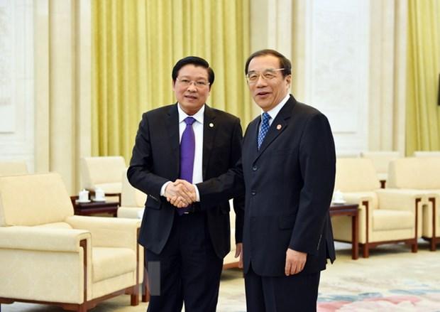 Viet Nam du Hoi nghi Doi thoai cap cao cac chinh dang the gioi hinh anh 1
