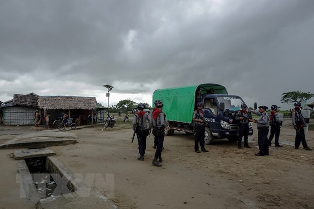 Myanmar siet chat an ninh tai 10 diem nhay cam o bang Rakhine hinh anh 1
