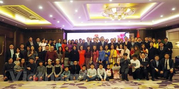 Nguoi Viet tai Trung Quoc chung vui mung Xuan Mau Tuat 2018 hinh anh 2