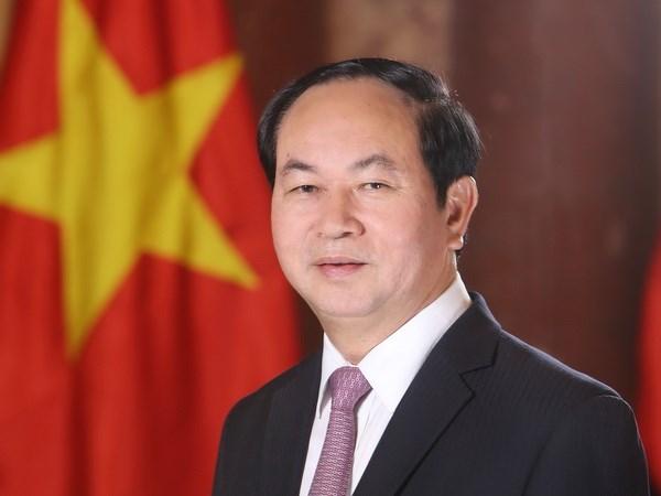Chu tich nuoc Tran Dai Quang hoi kien Tong thong An Do Ram Nath Kovind hinh anh 1