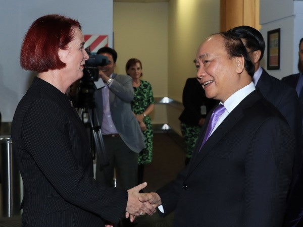 Thu tuong Nguyen Xuan Phuc bat dau tham chinh thuc New Zealand hinh anh 1