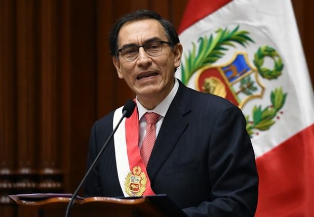 Ong Martin Vizcarra tro thanh tan Tong thong Peru toi nam 2021 hinh anh 1