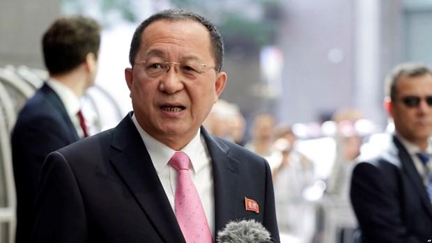 Ong Ri Yong-ho du hoi nghi Phong trao khong lien ket o Azerbaijan hinh anh 1