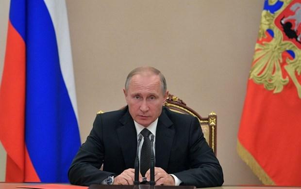 Tong thong Nga Vladimir Putin khang dinh IS da bi tieu diet o Syria hinh anh 1