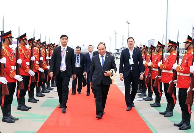 Thu tuong Nguyen Xuan Phuc ket thuc du Hoi nghi Uy hoi Song Mekong hinh anh 1