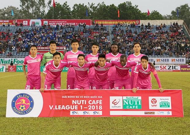 V.League 2018: Sai Gon FC gianh tron 3 diem truoc Hoang Anh Gia Lai hinh anh 1