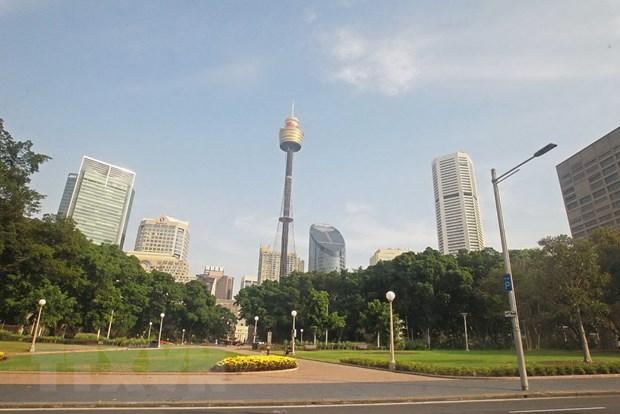 [Photo] Nao long truoc canh dep cuoi Thu tren dat Australia hinh anh 1