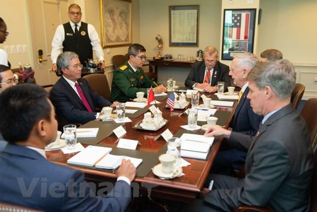 Dai su Viet Nam tai Hoa Ky hoi kien Bo truong Quoc phong James Mattis hinh anh 4