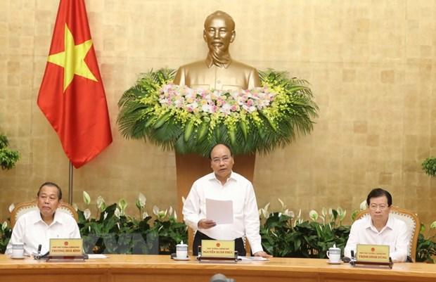 Thu tuong Nguyen Xuan Phuc: Co mot khong khi thi dua de tang truong hinh anh 1