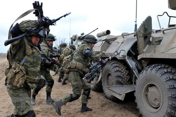 Hang nghin binh sy Nga se tham gia tap tran chung tai Kyrgyzstan hinh anh 1