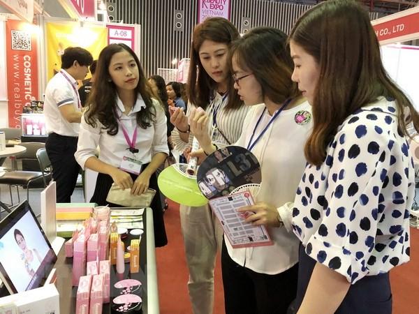 Hon 200 doanh nghiep tham gia trien lam Mekong Beauty Show 2018 hinh anh 1