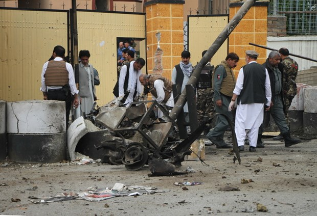 Afghanistan: No lon o tinh Nangarhar, it nhat 40 nguoi thuong vong hinh anh 1