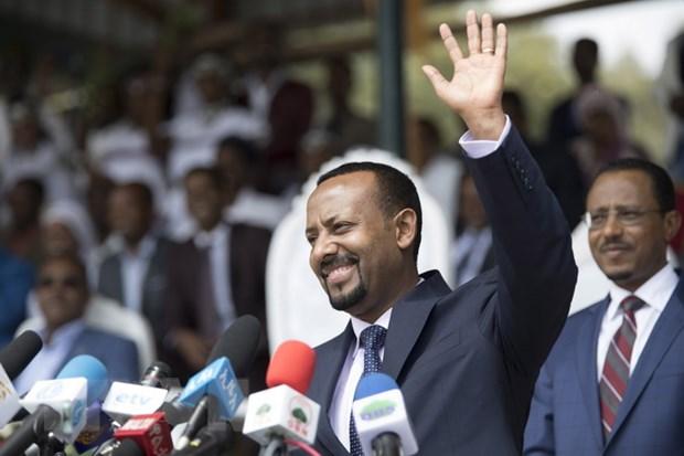 No gay hoang loan tai mot cuoc mittinh ung ho tan thu tuong o Ethiopia hinh anh 1