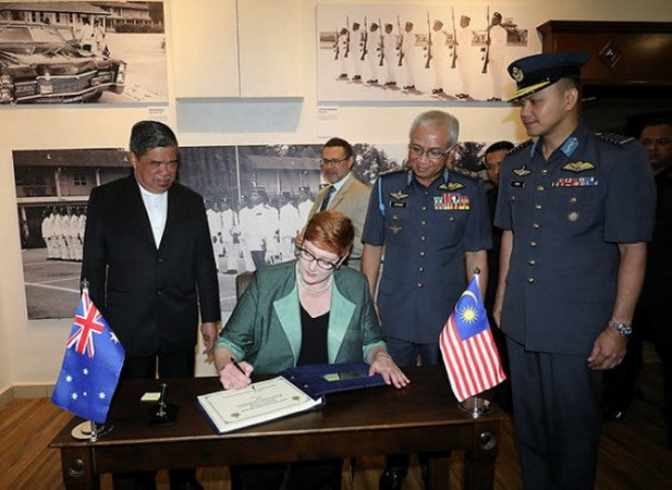 Malaysia-Austraila hop tac doi pho voi thach thuc an ninh khu vuc hinh anh 1
