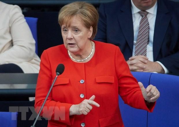Ba Merkel du doan EU se chua dua ra duoc giai phap ve di cu hinh anh 1