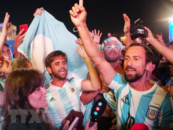 Argentina xac minh tinh minh bach nguon thu cua co dong vien toi Nga hinh anh 1